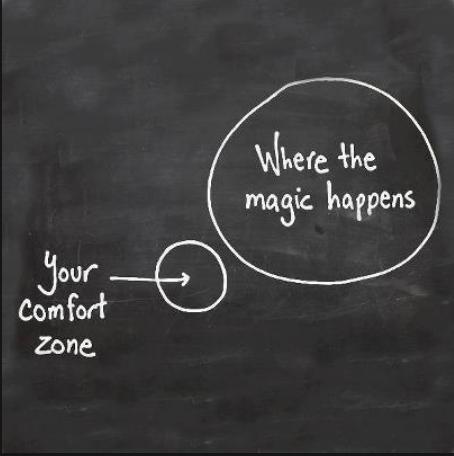 De comfortzone, een oncomfortabele plek.